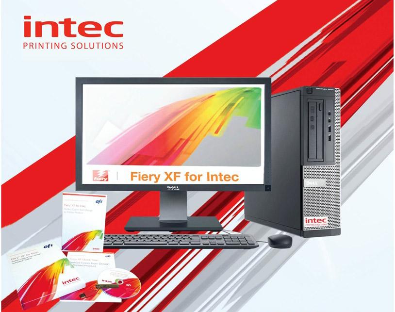Nuevo controlador externo Fiery XF para las INTEC