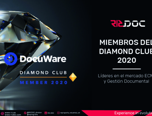 RICDOC ENTRA A LA CATEGORIA DIAMOND CLUB PARTNER 2020 DE DOCUWARE