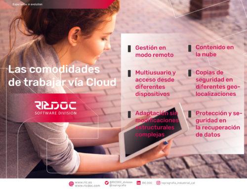 Les comoditats de treballar en mode Cloud