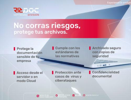 NO CORRIS RISCOS, PROTEGEIX ELS TEUS ARXIUS