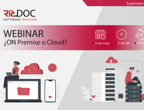 Webinar ¿On Premise o Cloud?