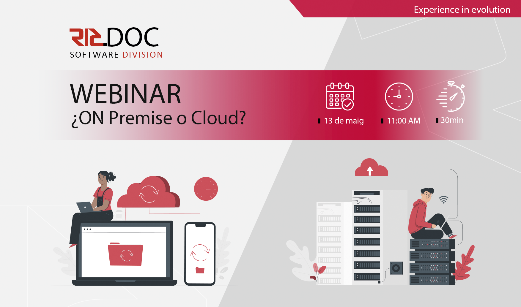 Webinar - On Premise o Cloud?