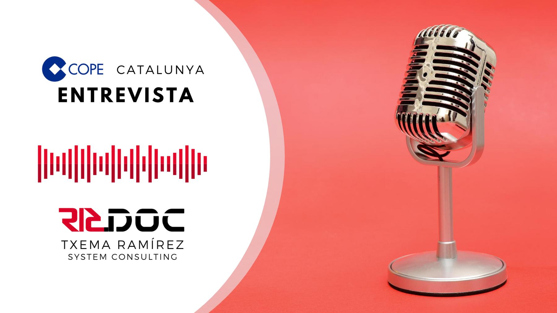 Entrevista en la COPE Catalunya