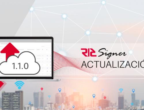 Actualización V.1.1.0 de RICSigner