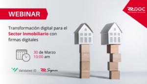 Webinar- Firmas Digitales aplicadas al sector inmobiliario