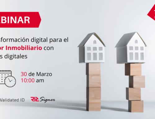Webinar | Firmas Digitales aplicadas al sector inmobiliario