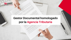 Gestor Documental homologado por la Agencia Tributaria