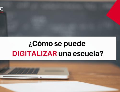 ¿Cómo se puede digitalizar una escuela?