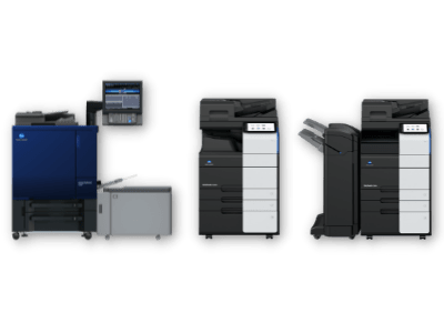 Gama de impresoras profesional de Konica Minolta